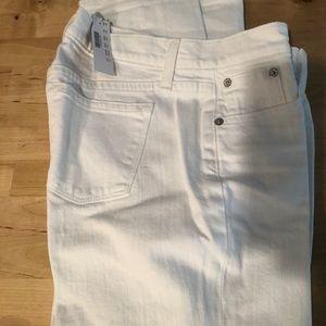 NWT J.crew white boyfriend jeans size 24